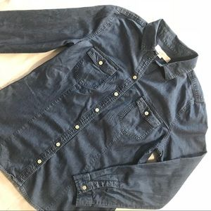LOFT Tops - Loft Long Sleeve button down chambray blouse